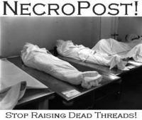 Necro posting