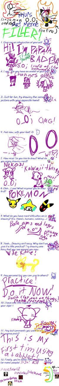 Nyu's Art Meme