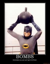 Some Days, You Just Can't Get Rid of a Bomb!