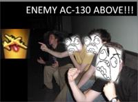 AC-130 Spectre Gunship/Enemy AC-130 Above