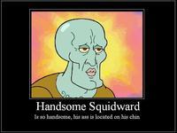 Handsome Squidward/Squidward Falling