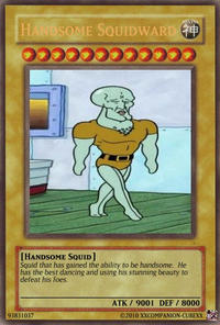 Handsome Squidward/Squidward Falling