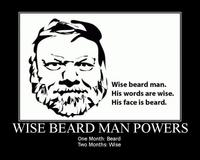 Mark Bunker/Wise Beard Man