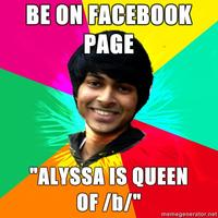 Advice-rohit-be-on-facebook-page-alyssa-is-queen-of-b