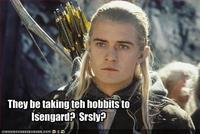 They're Taking the Hobbits to Isengard