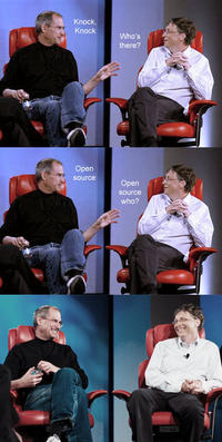 Steve Jobs vs. Bill Gates