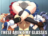these arent my glasses