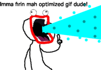 Optimized GIF Dude