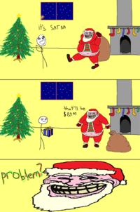 SATNA KLAUSE (Santa Troll)