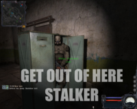 """Get Out Of Here, Stalker!"""