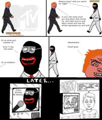 Racists on 4chan