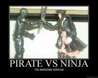 Pirates vs. Ninjas
