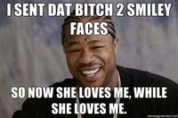 Bitches Love Smiley Faces