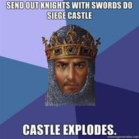 Send-out-knights-with-swords-do-siege-castle-castle-explodes