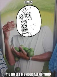 Limes Guy / Why Can't I Hold All These Limes?