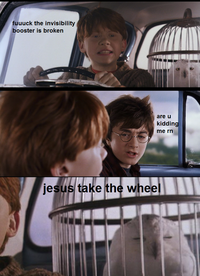 Jesus Take The Wheel