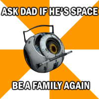 Portal 2 Space Personality Core
