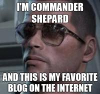 I'm Commander Shepard