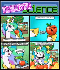 Trollestia / Molestia / Tyrant Celestia