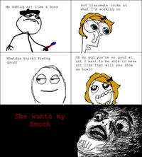 She Wants My X