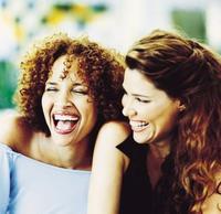 Girls Laughing