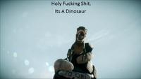 Holy Shit It's a Dinosaur!