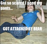 Pee Pants Girl