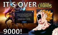It's Over 9000!