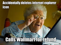Grandma Finds the Internet