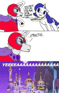 Magneto / MagNEIGHto (My Little Pony Crossover)