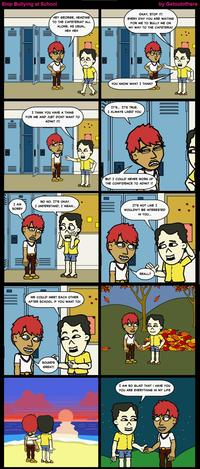 Stop Bullying Comics