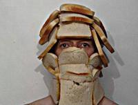 Bread Helmet Man