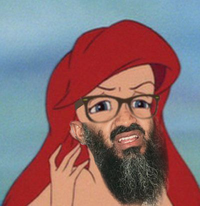 Hipster Mermaid / Hipster Ariel