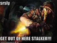 Get Out Of Here, Stalker!
