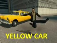 YELLOW CAR!