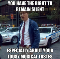 Hipster Cop