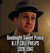Goodnight Sweet Prince