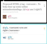 Fake HTML Tags