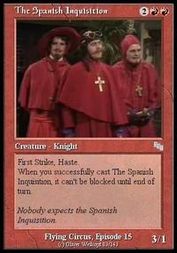 e14 nobody expects the spanish inquisition image gallery (sorted by,Spanish Inquisition Meme