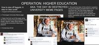 Facebook University Meme Pages