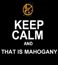 That Is Mahogany