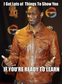 "Brian McKnight ""If You're Ready To Learn"""