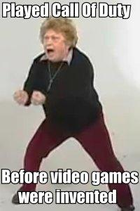 XBOX Crazy Old Lady
