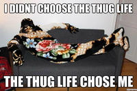 I Didn't Choose The Thug Life, The Thug Life Chose Me