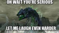 Oh Wait. You're Serious? Let Me Laugh Even Harder!