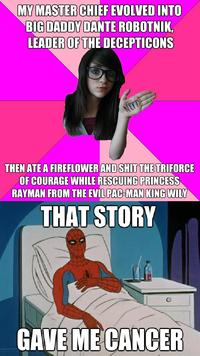 88c image 468932] idiot nerd girl know your meme,Girl Nerd Meme