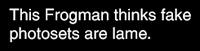 Sad Frogman / Sad Bear Guy