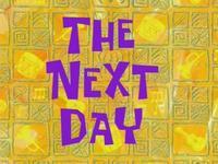 SpongeBob Time Cards