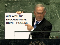 Netanyahu's Cartoon Bomb