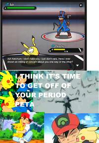 Pokémon Black and Blue / PETA Pokémon Parody